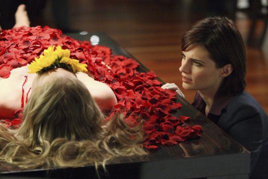 Season 1, episode 1 'Flowers for your grave' | CASTLE