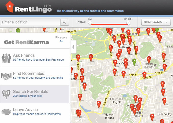 Rentlingo Making Rent Searching Safer With Social Networking Video Social Networks Social Social Media Pins