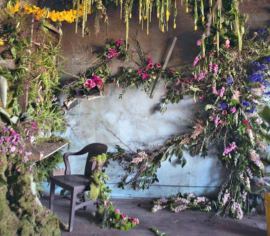 Florist converts a dilapidated Detroit home into a vibrant floral display | Inhabitat - Sustainable Design Innovation, Eco Architecture, Green Building