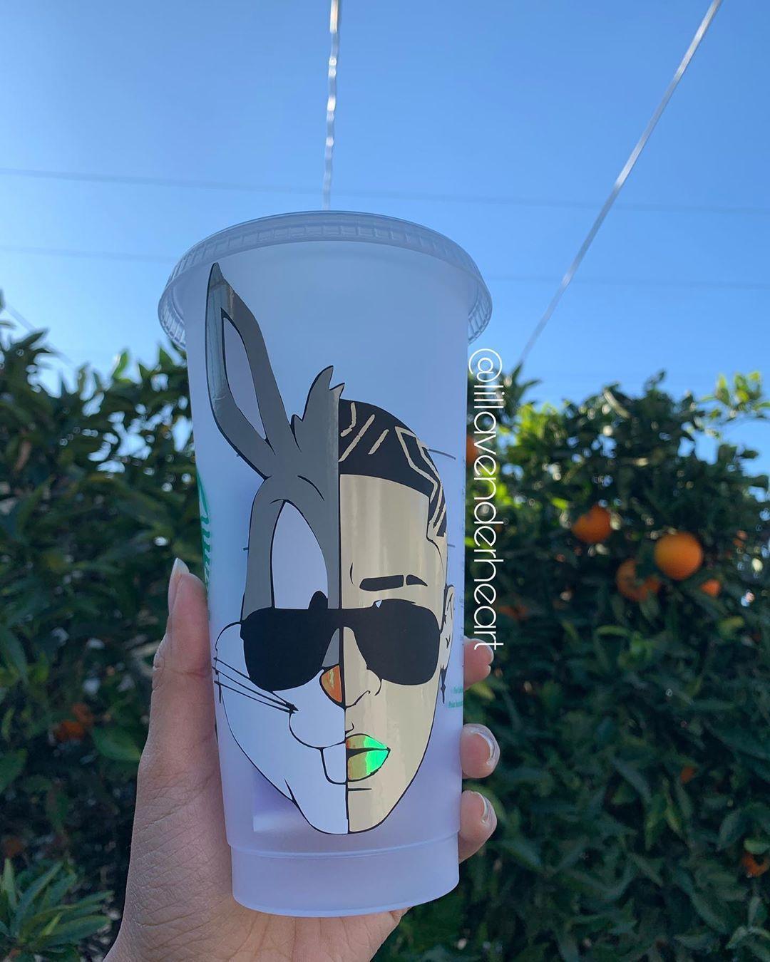Lillavenderheart On Instagram Bad Bunny Or Bugs Bunny Badbunny Starbucks Badbunny Lillavenderheart On Instagram Bad Bunny Or Bugs Bunny Ba 2020 Bahar