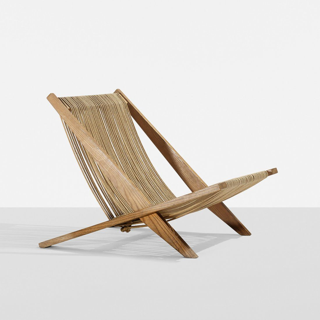 Lot Kjaerholm And Hoj Snedkerier Lounge Chair Lot Number 0314 Starting Bid 1 000 Auctioneer Wright Auction Chair Modern Woodworking Plans Lounge Chair