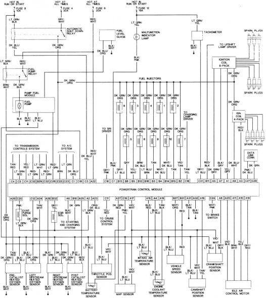 1996 Dodge Ram 1500 Fuel Pump Wiring Diagram Di 2020