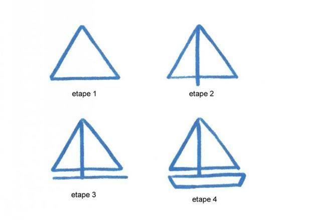 Apprendre A Dessiner Un Bateau A Voile Dessins Simples Dessin De Voilier Dessins Simples Apprendre A Dessiner