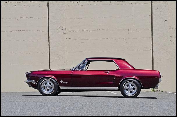 1968 Mustang Notchback