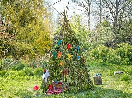 mit unserem garten-tipi sorgt ihr im nu für indianer-ferien im, Gartenarbeit ideen