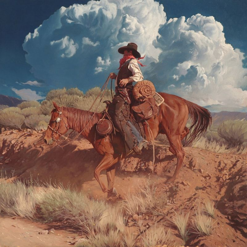 Mark Maggiori's Wild West Paintings paintings featured