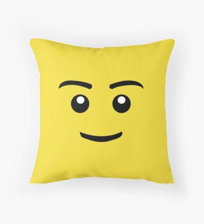 Brick Man Smiley Face by JonStark