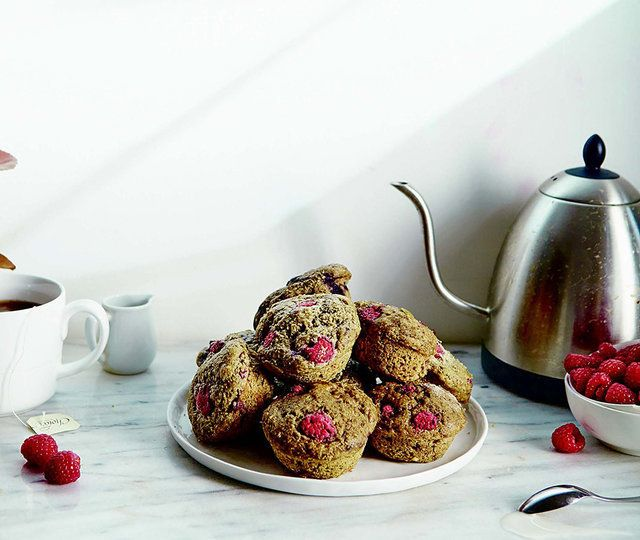 Use hemp protein powder to bake these delicious berry muffins.