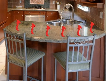 Heated Countertops Countertops Kitchen Remodel Solid Surface