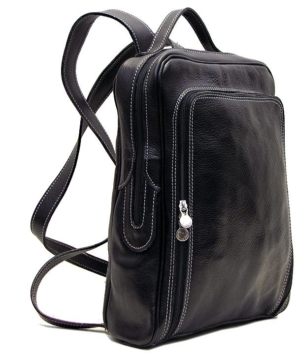 Milano Italian Leather Backpack Purse - Fenzo Italian Bags ...