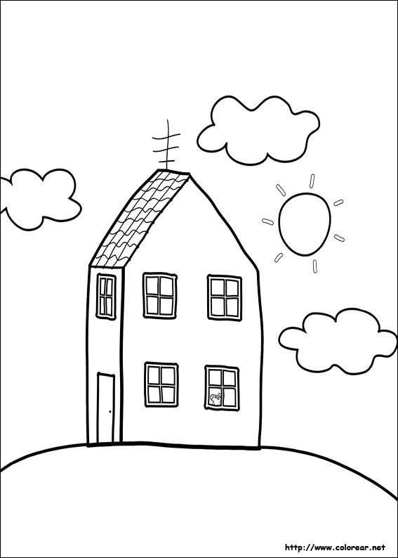 peppa pig coloring pages printable dibujos de peppa pig volver a - new free coloring pages for peppa pig