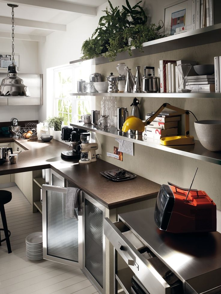 Diesel Social Kitchen para Scavolini | Kitchens, Interiors and ...
