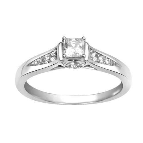 fred meyer jewelers 3 8 ct tw diamond engagement ring. Black Bedroom Furniture Sets. Home Design Ideas