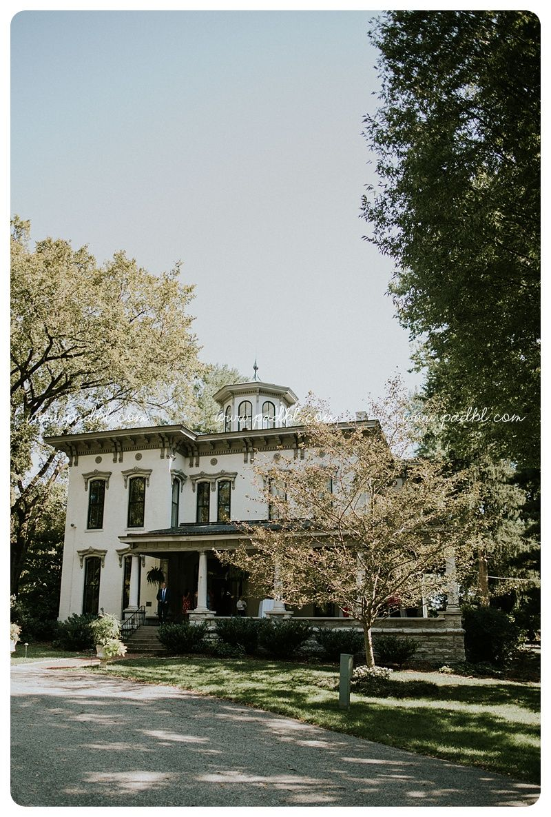 Garden wedding at Peterson-Dumesnil House. Louisville KY ...