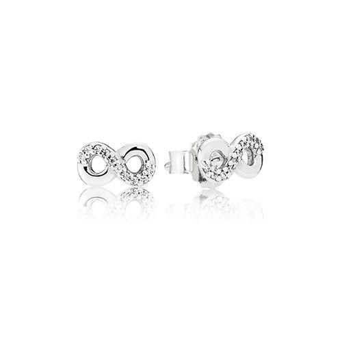 c499892295c6e Pandora Silver Infinite Love Earrings - £30.00   Pandora Spring ...