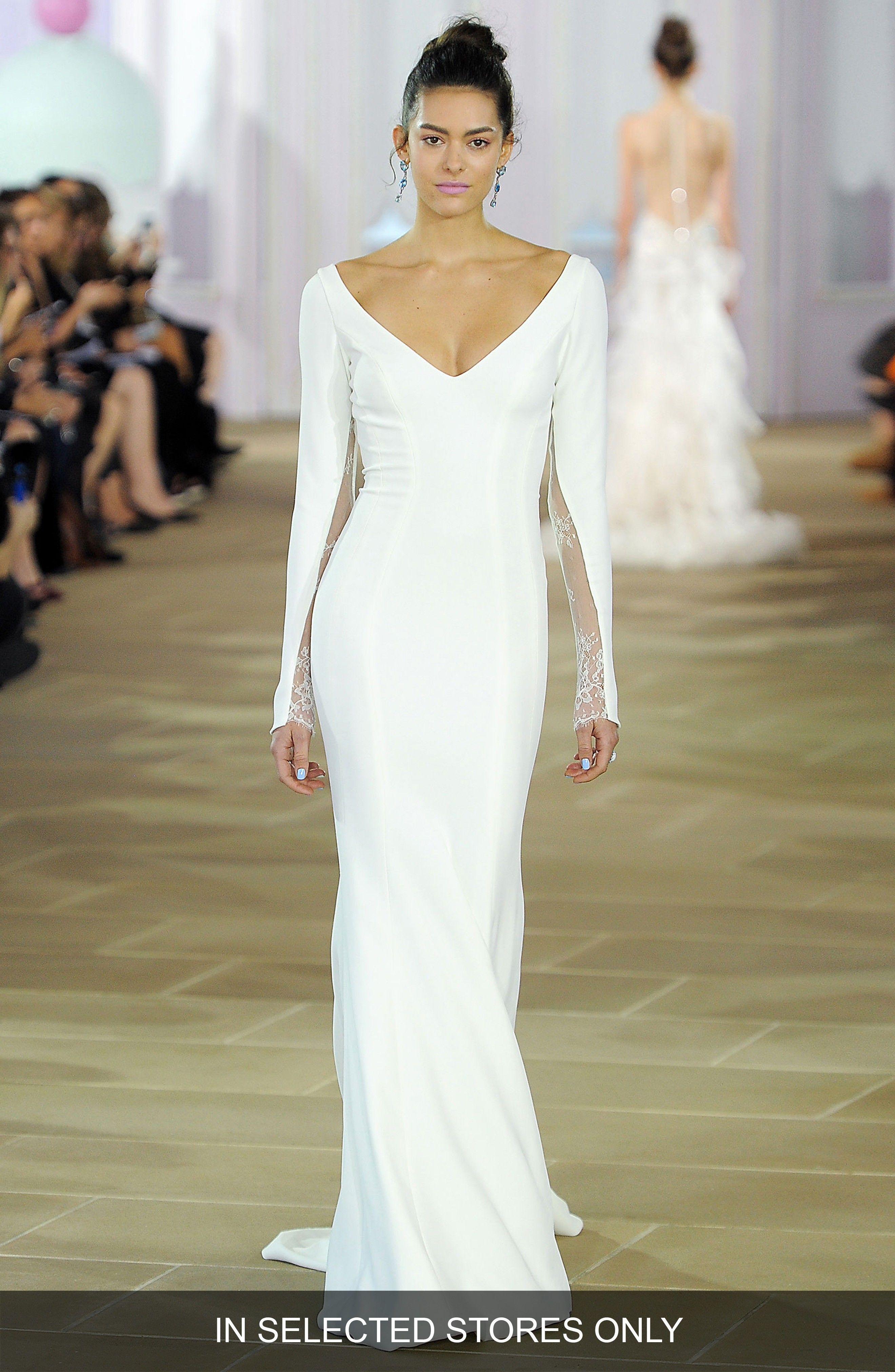 Image Result For Silk Crepe Wedding Dress Beautiful Dresses