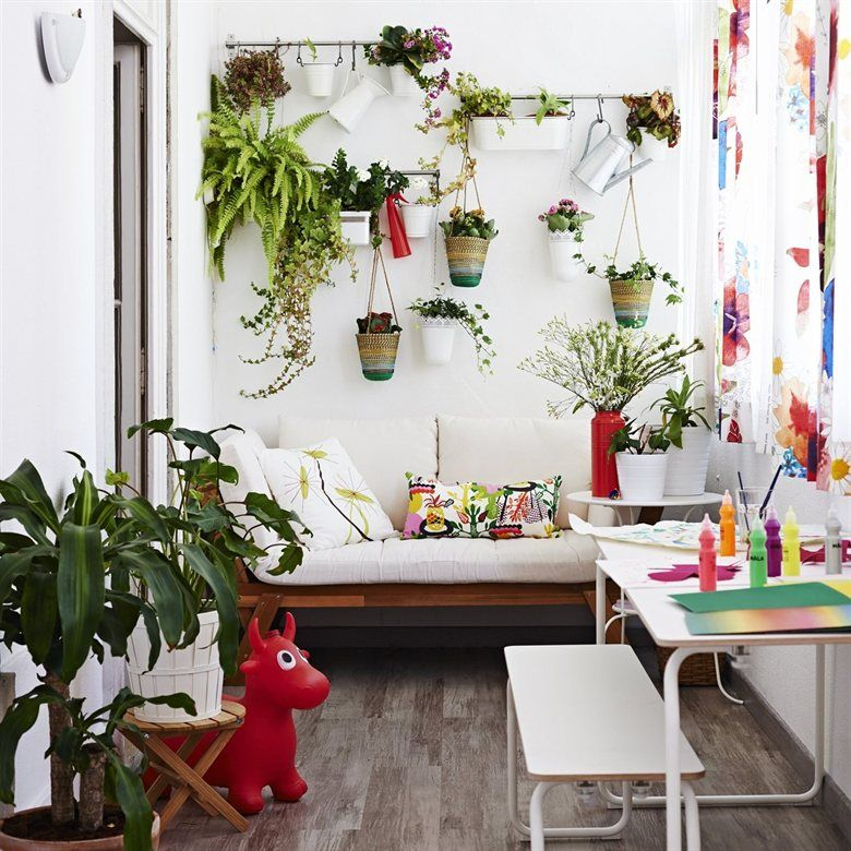 Ikea Indoor Garden: Ideas For An Indoor Garden. See How Teresa And Her Family