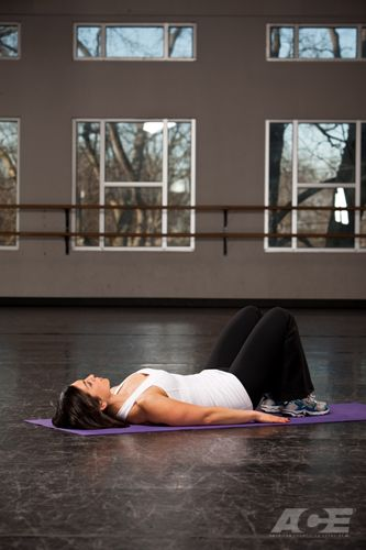 Step 1 Starting Position Lie Flat On Your Back On The Floor Mat With Your Knees Bent And Feet Flat On The Floor Your Arms Are Exercise Toe Touches Vertical