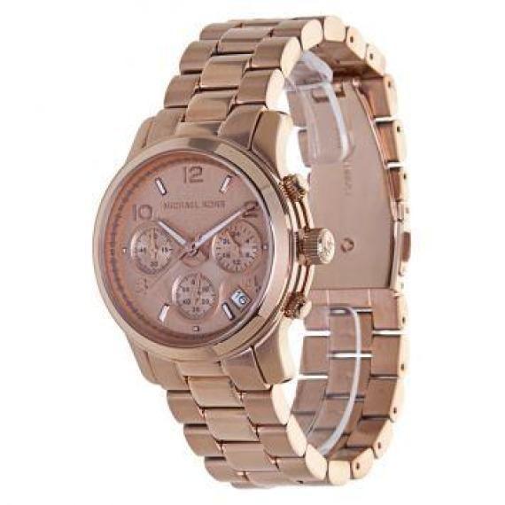 a766fcefe1b Relógio Feminino MK Bronze - R 99.00