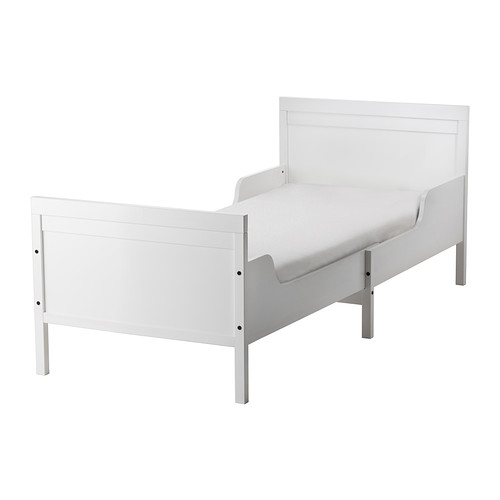 ikea juniorseng SUNDVIK Ext bed frame with slatted bed base, white in 2018 | House  ikea juniorseng