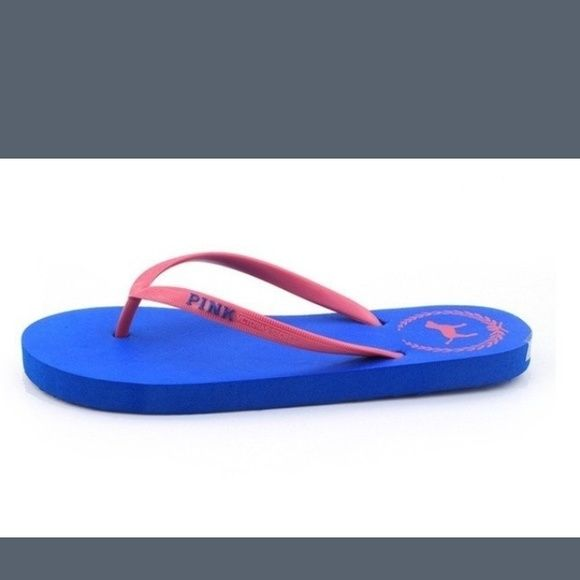 New flats color blue size 7 Not authentic pink but very good quality and very comfy. I always use for myself :). Please chose a size and color. Only serious buyers please ! I have a few shoes in stock. Shoes Flats & Loafers