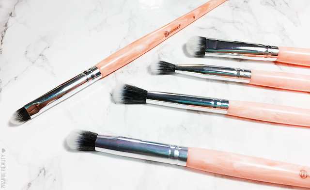 REVIEW bh cosmetics Rose Quartz 9 Piece Brush Set Bh