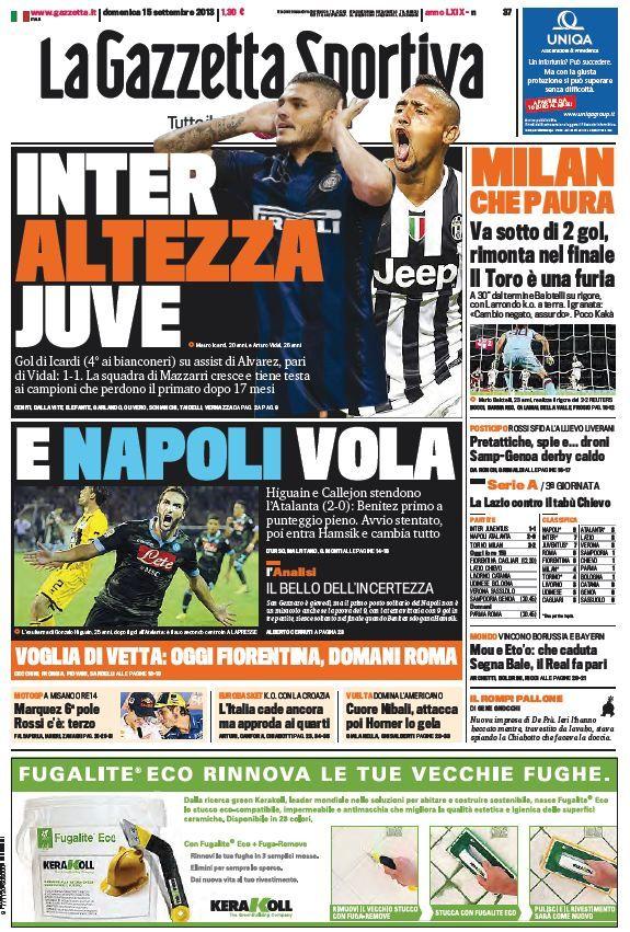La Gazzetta dello Sport (150913) Italian True PDF 44