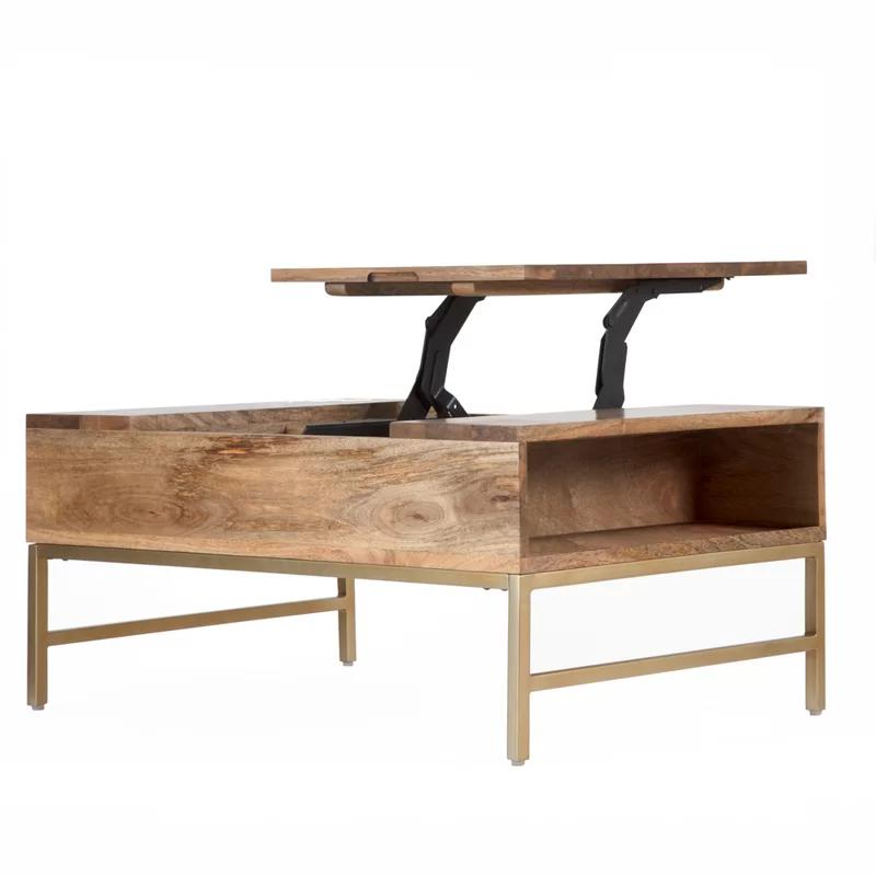 Baldwin Lift Top Coffee Table With Storage Joss Main In 2021 Lift Top Coffee Table Coffee Table Wood Coffee Table