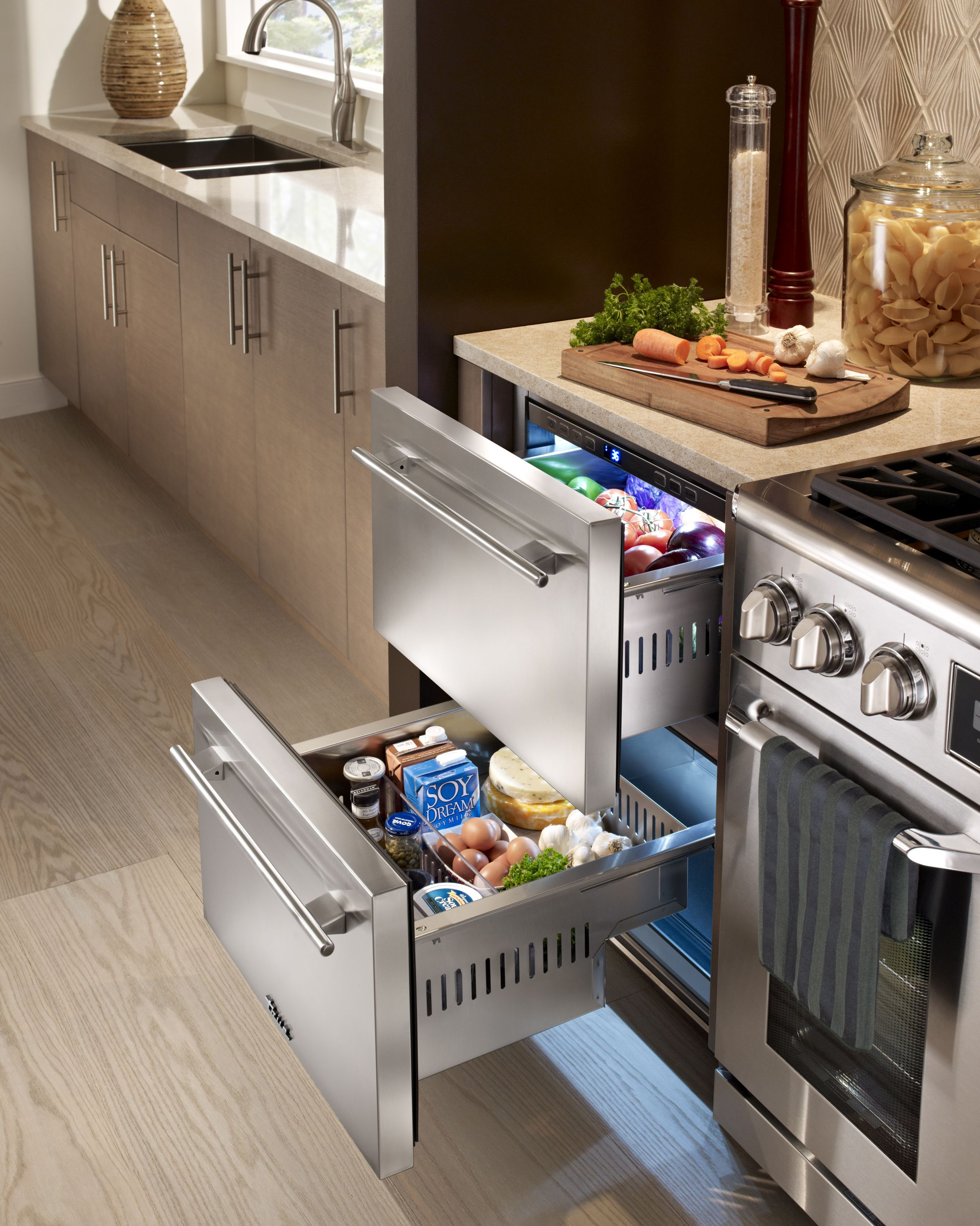 multi undercounter ideas fascinating refrigerator fridge drawers drawer integrated