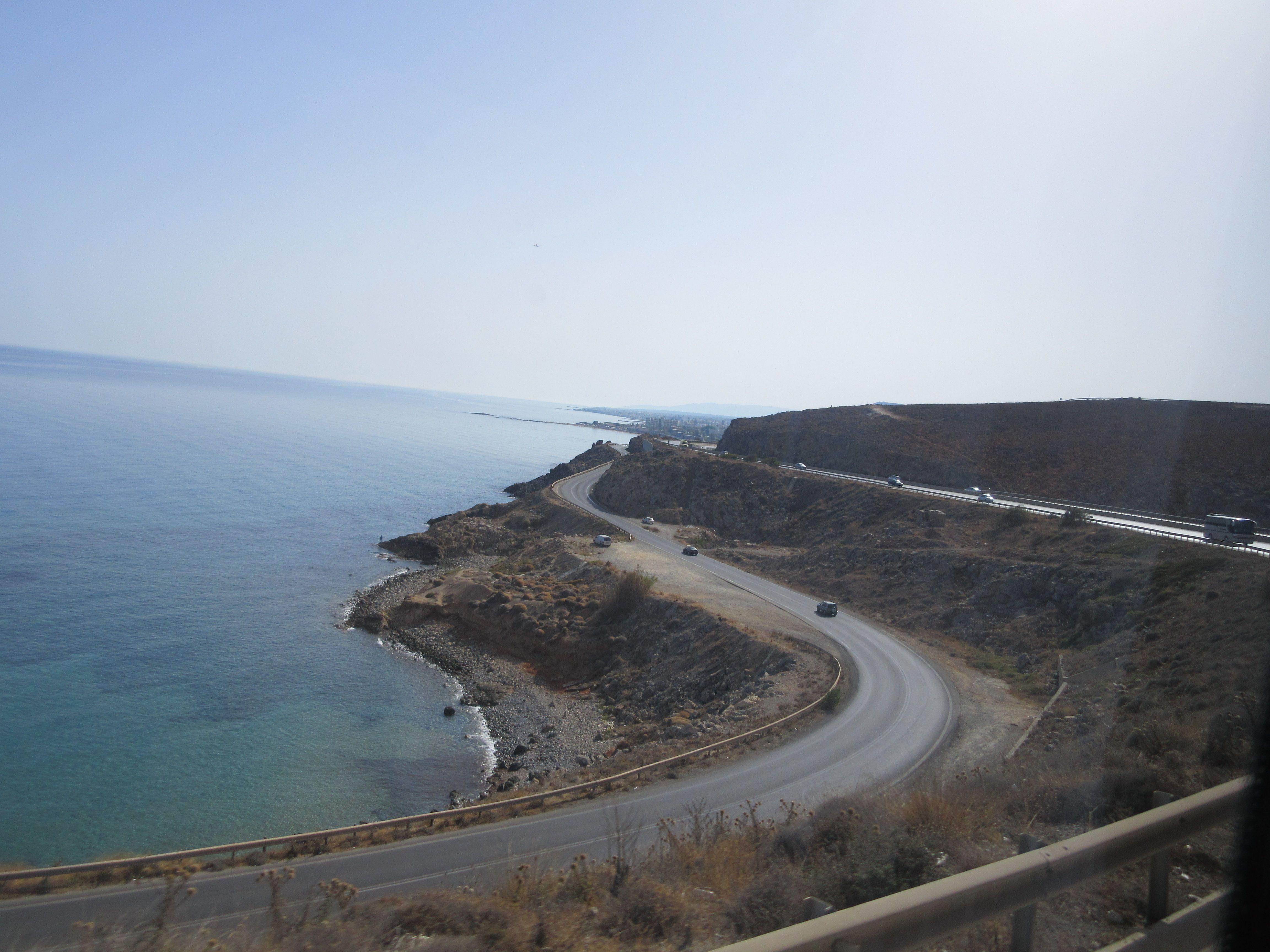 Küstenstrasse im Norden Kretas