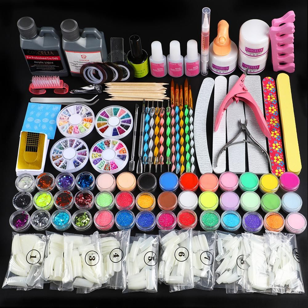 Pin By Zaraeya On Nails Kit In 2020 Acrylic Nail Kit Nail Kit Nail Art Tool Kit