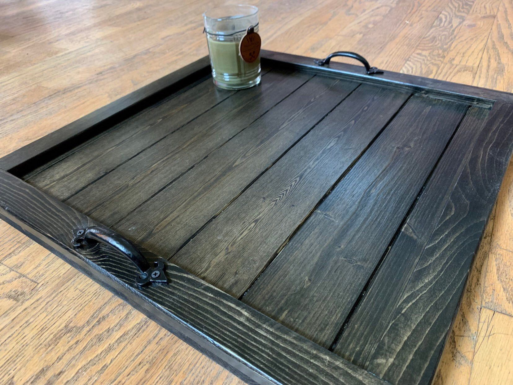 Ottoman Tray Coffee Table Tray Large Wooden Rustic Square Etsy Ottoman Tray Oversized Ottoman Coffee Tables Coffee Table Tray [ 1242 x 1656 Pixel ]