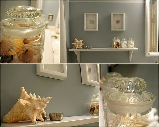 Bath · Great Ideas For Displaying Shells · Beach Theme ...