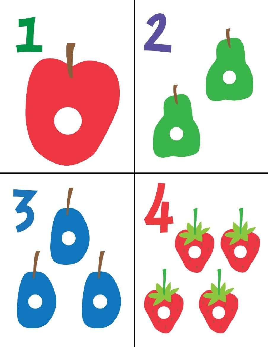 Very Hungry Caterpillar Flashcards 1 151 In 2021 Theme Activity Hungry Caterpillar The Very Hungry Caterpillar [ 1169 x 904 Pixel ]
