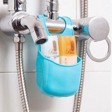 Goedkope py015 spons opbergrek mand wassen doek wc zeep for Keuken handigheidjes
