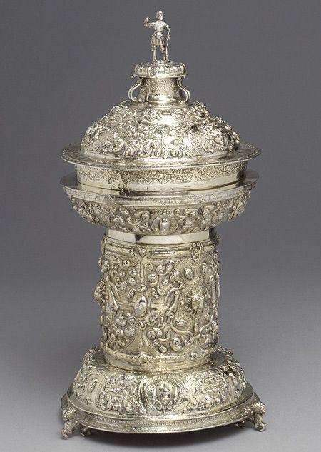 "Made by the anonymous goldsmith ""IG"": Standing Salt (52.134a-e) | Heilbrunn Timeline of Art History | The Metropolitan Museum of Art"