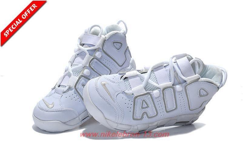 premium selection 66160 3c447 Pippen 414962-005 Nike Air More Uptempo WHITE SILVER0