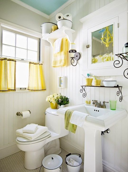20 best budget decorating tips - Tiny Bathroom Decorating Ideas Pictures