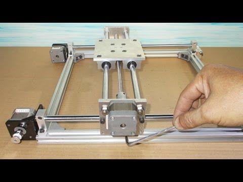 Homemade RepRap Prusa 3D Printer Frame DIY X Y Z Stage