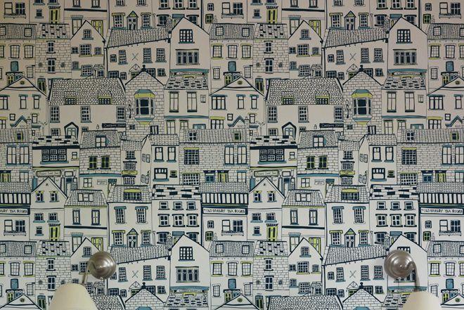 Cottages By The Sea Cottages By The Sea Seaside Wallpaper Cottage Wallpaper
