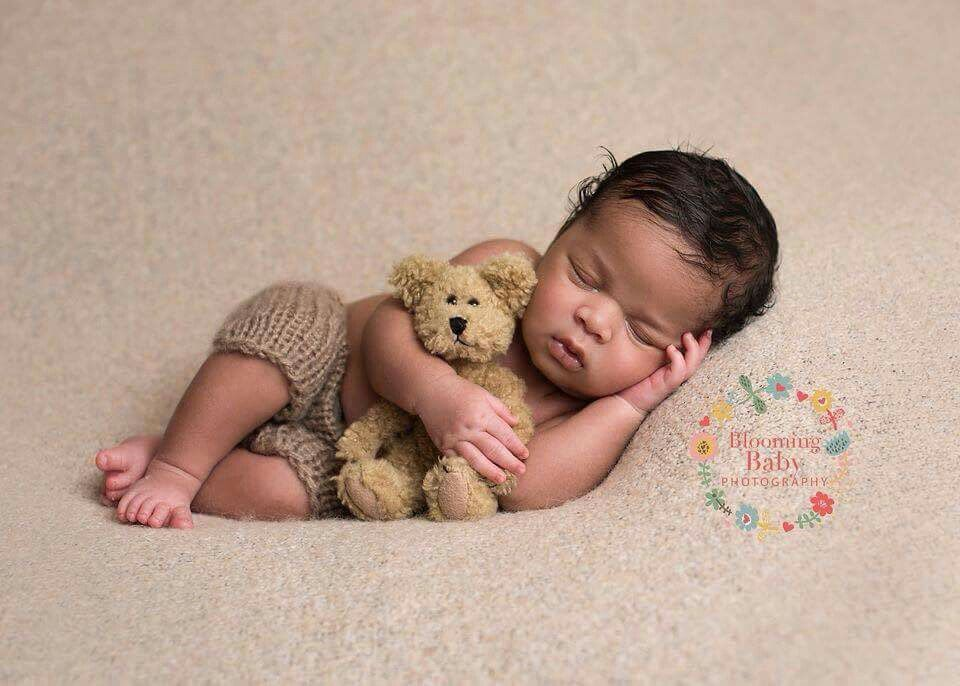 Newborn Black Baby Boy Photography