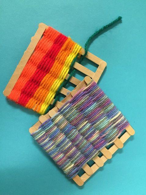 How To Make A Craft Stick Loom
