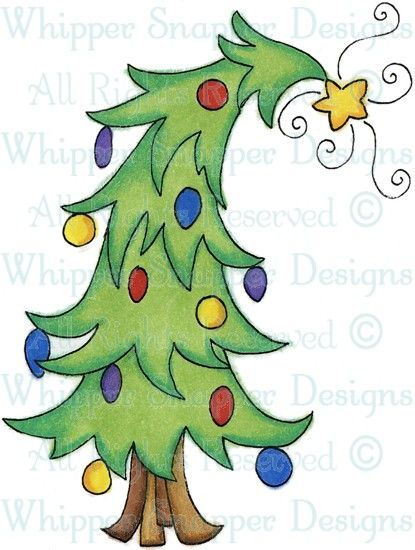 Tilted Xmas Tree Christmas Tree Painting Christmas Tree Drawing Christmas Tree Art