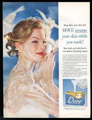 dove shampoo print ads