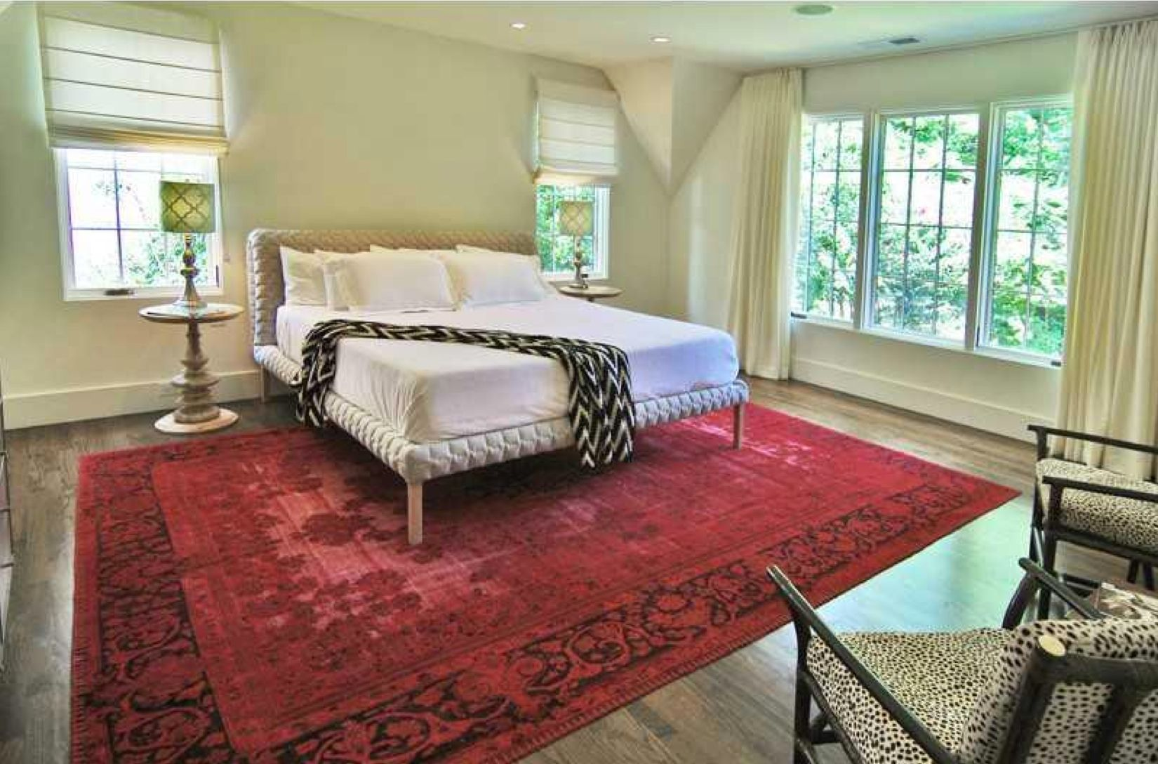 Easy boho bedroom at 1297 Middlesex Ave ATL