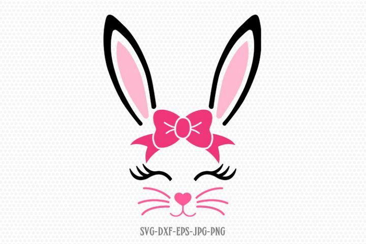 Bunny Svg Easter Svg Boy Girl Cute Easter Bunny Svg Bunny Svg Cute Easter Bunny Easter Svg