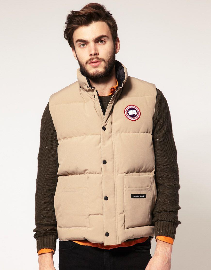 9094e190f83fd2 Canada Goose vest   #materialism   Canada goose fashion, Cheap ...
