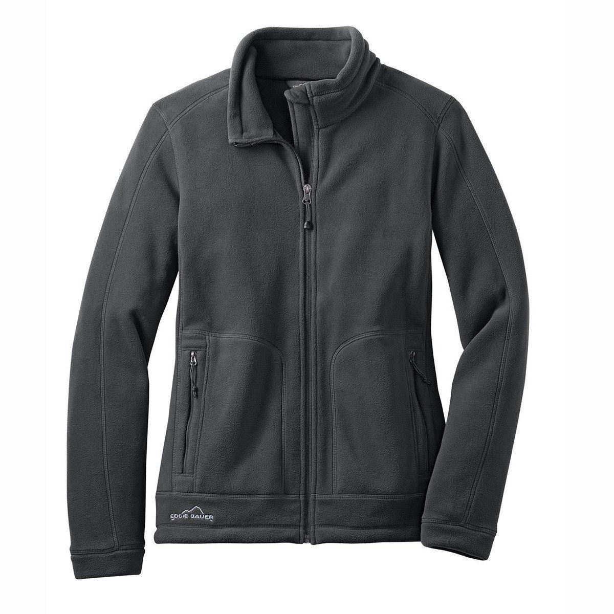 Eddie bauer womenus iron gate wind resistant fullzip fleece jacket