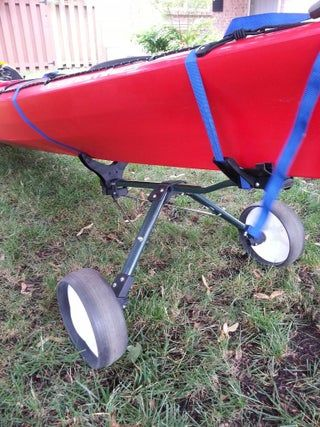 Photo of Turn a Golf Cart Into Kayak Dolly