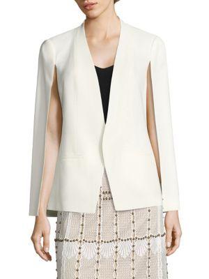 KOBI HALPERIN Natalie Cape Sleeve Jacket. #kobihalperin #cloth #jacket
